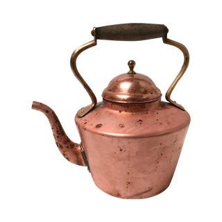 Antique English Copper Teapot