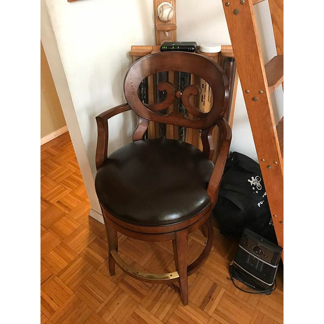 Woodbridge Furniture Armless Bar Stool - Image 2 of 6