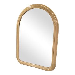 Lane Tan Lacquered Dresser Mirror