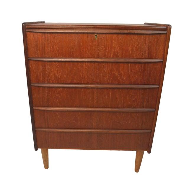 Danish Modern Teak Dresser - Image 2 of 7