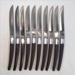 Image of Ecko Eterna Canoe Muffin Steak Knives - Set of 10