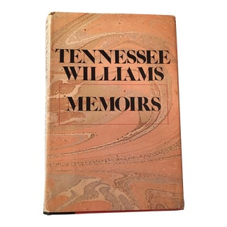 "1975 ""Memoirs of Tennessee Williams"" 1st Edition Book"