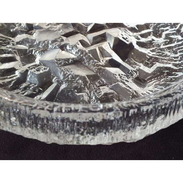 Iittala Lunaria Art Glass Bowl by Tapio Wirkkala - Image 4 of 9
