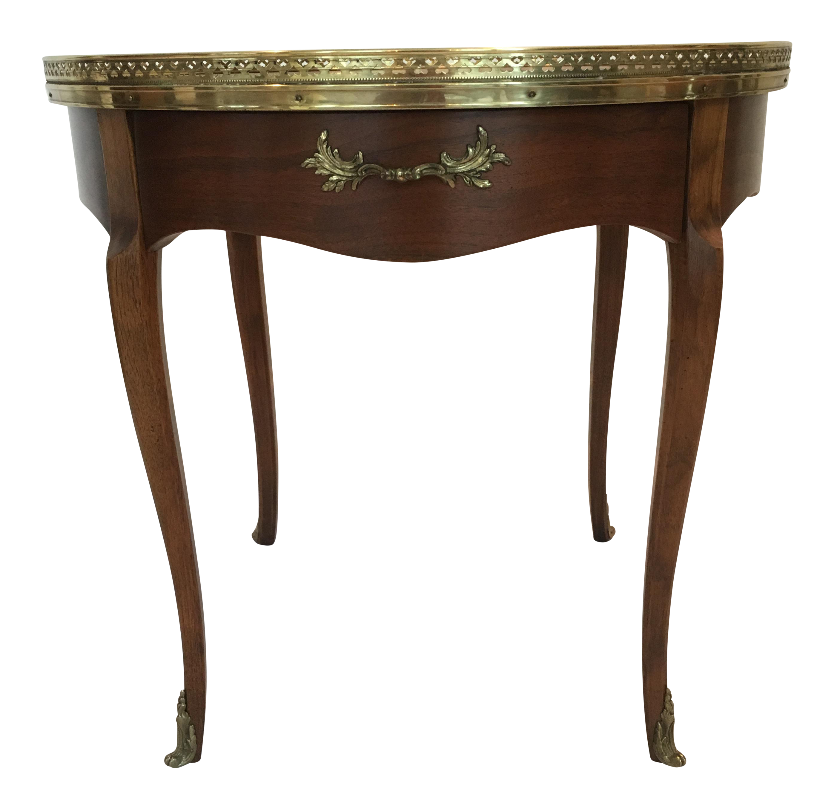 Perfect Baker Furniture French Style Gueridon Burlwood Gallery Table