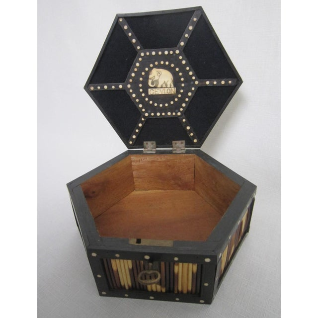 Anglo Indian Quill Gaming Box - Image 5 of 6