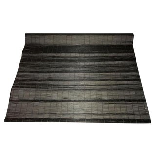 Custom Black Roman Bamboo Stick Shades - Pair