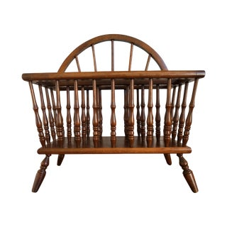 American Spindle Magazine Rack