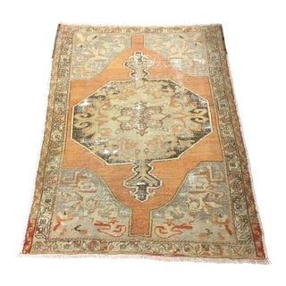 "Turkish Light Orange Rug - 4'6"" x 6'10"""