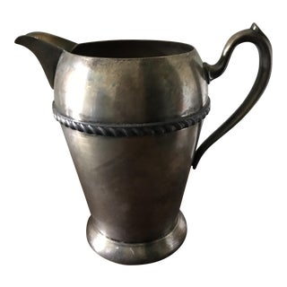 Vintage Academy Silver Pitcher
