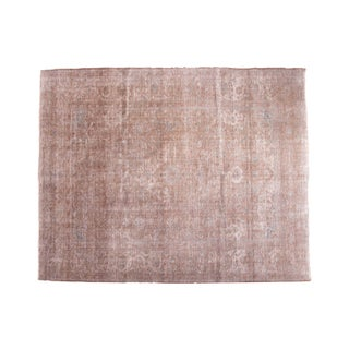 "Distressed Vintage Sivas Carpet - 7'11"" x 9'11"""
