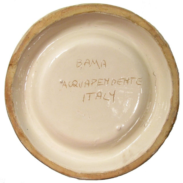 Image of Italian Majolica Ashtray