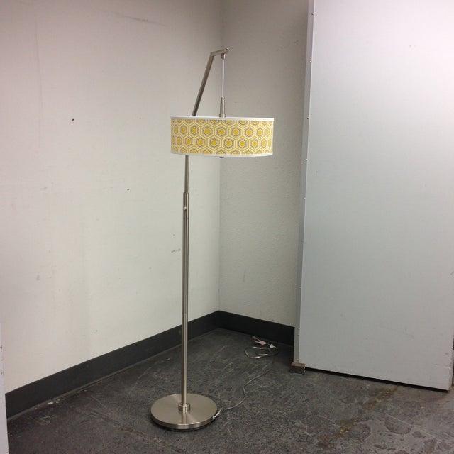 Image of Modern Chrome Floor Lamp