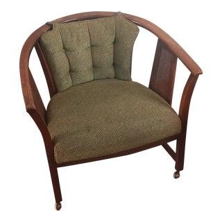 Mid-Century Barrel Chair