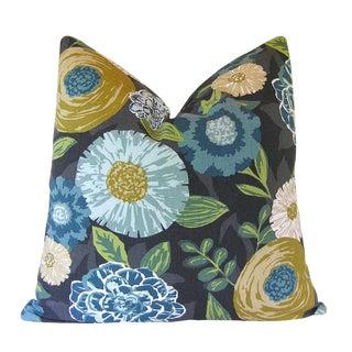 Robert Allen Fabric Luna Flora Custom Pillow Cover