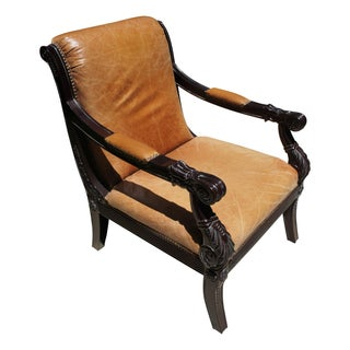 Regal Leather Armchair
