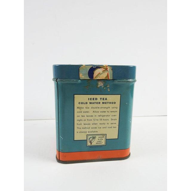 Vintage 1/2 Lb. Maxwell House Orange Pekoe Tea Tin - Image 3 of 8
