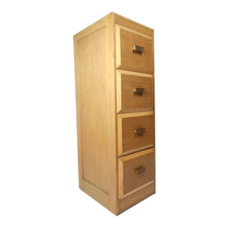 Gorgeous Vintage Modern Tall File Cabinet