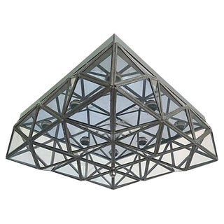 Lightolier Mid Century Ceiling Light