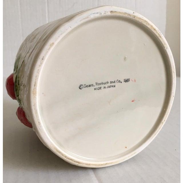 Strawberry Relief Ceramic Cachepot - Image 7 of 7