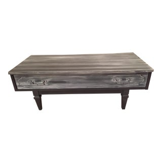 Charcoal Bench