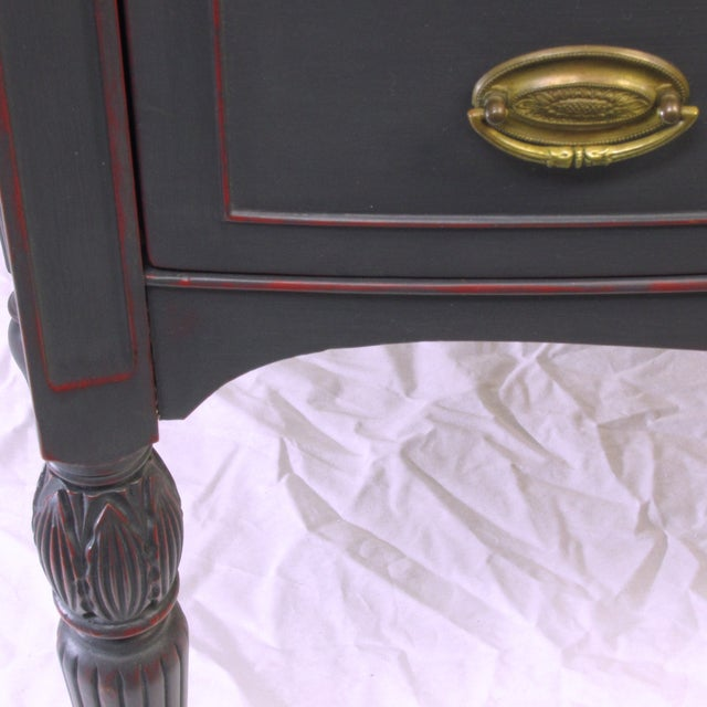 Vintage Painted Mahogany Server - Image 6 of 8