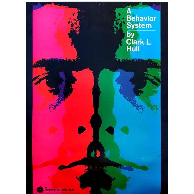 """A Behavior System"" Poster by Arnold Saks - Image 1 of 2"