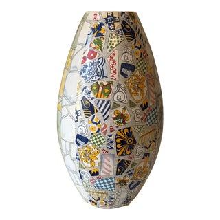 Crate & Barrel Mosiac Vase