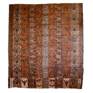 Samoan Tapa Cloth Panel - A Pair