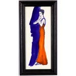 Image of Barbara Berhardt Evening in Orange Watercolor