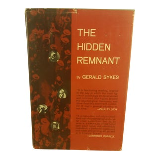 Gerald Sykes, The Hidden Remnant
