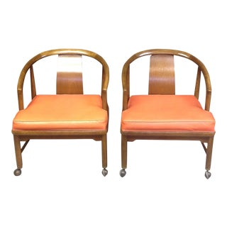 Horseshoe Chairs, American of Martinsville - Pair