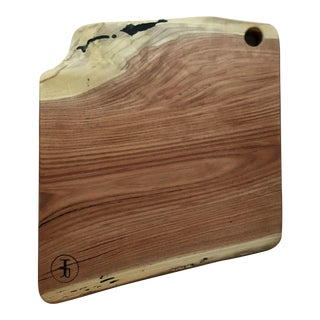Live Edge Hardwood Cutting Board / Serving Board
