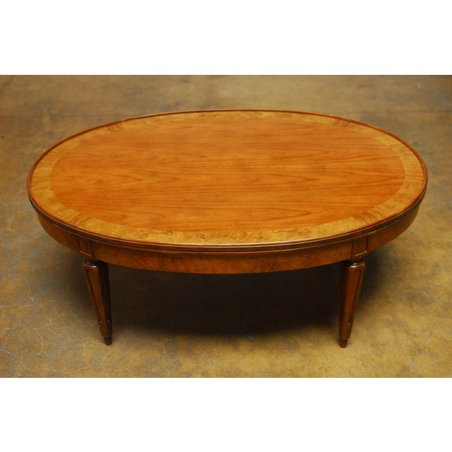 Baker french style coffee table chairish Baker coffee table