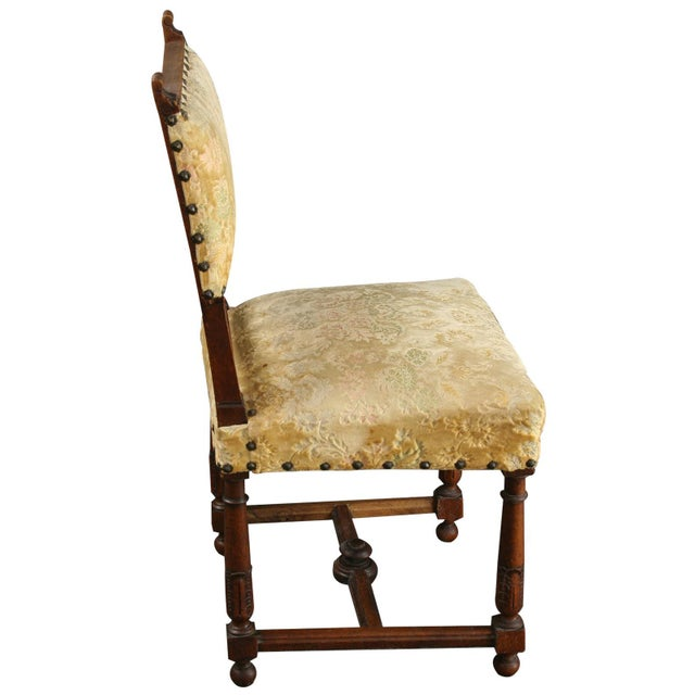 Antique 1900 French Dining Chairs - Set of 8 - Image 8 of 8