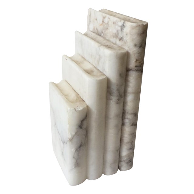 Image of Vintage Marble Bookend