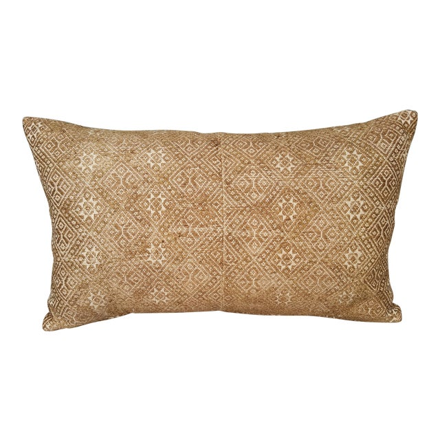 Embroidered Silk Wedding Quilt Pillow - Image 1 of 5