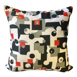 Mid-Century Style Throw Pillow