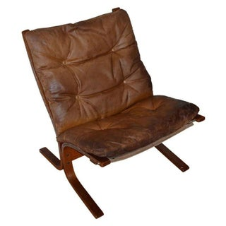 Mid-Century Ingmar Relling Siesta Leather Chair