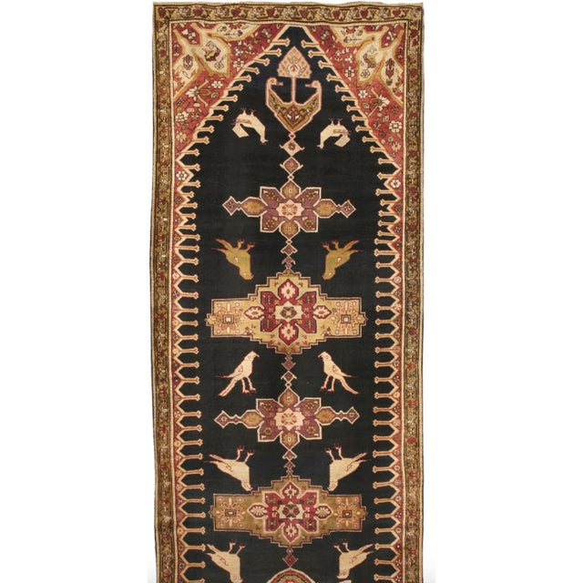 Antique 19th Century Caucasian Karabagh Runner - Image 1 of 1