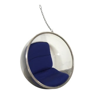 Eero Aarnio Plushpod Hanging Bubble Chair