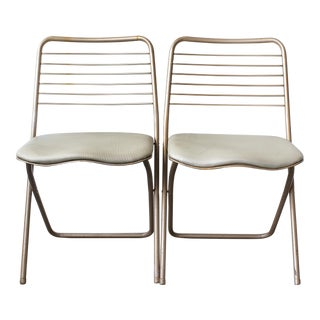 1950s Cosco Folding Chairs - A Pair