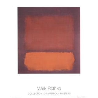 "Mark Rothko ""Untitled"" (1962) Poster"