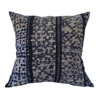 Thai Hill Tribe Cross Batik Pillow