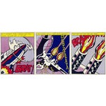 Image of Roy Lichtenstein as I Opened Fire - 3 Poster Set