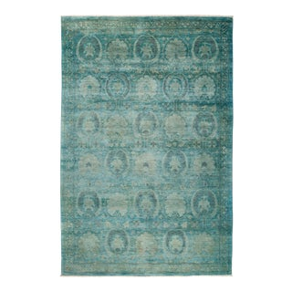 """Vibrance Hand Knotted Area Rug - 6' 1"""" X 9' 1"""""""