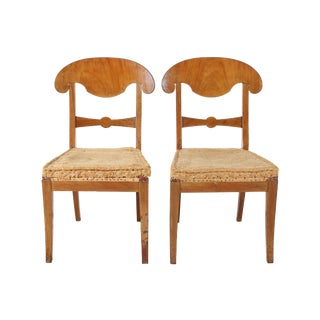 Biedermeier Style Chairs - A Pair