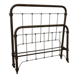 Antique Iron Full-Size Bed