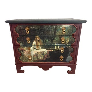 Tomlinson Waterhouse Print Chest of Drawers