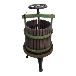 Wine Press from Eger, Hungary