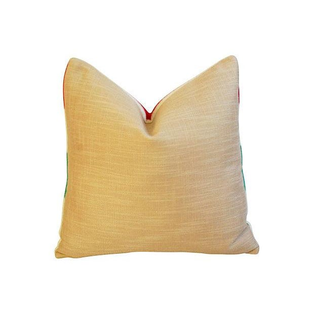 Image of Custom Hudson's Bay Camp Blanket Pillows - A Pair
